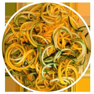 Curly Veggies™ - uses